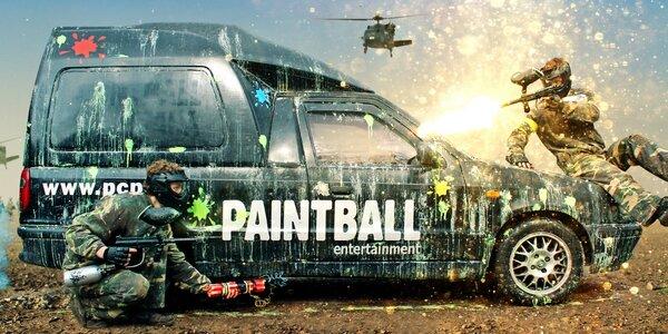 Paintball ve vojenských kasárnách až pro 10 hráčů