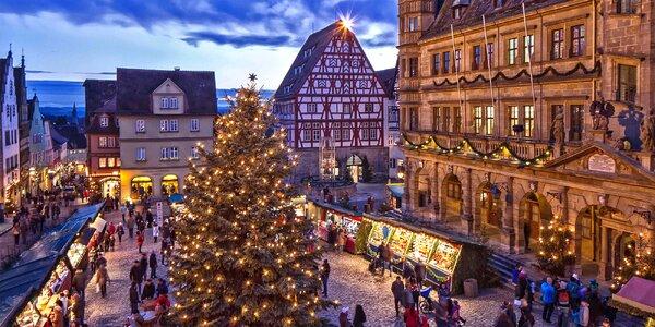Adventní výlet do bavorského Rothenburgu