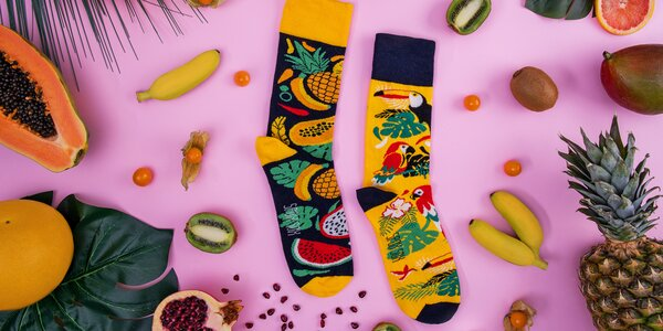 Tématické ponožky Spox Sox s různými motivy