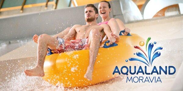 Podzim v Aqualandu Moravia: bazény i wellness