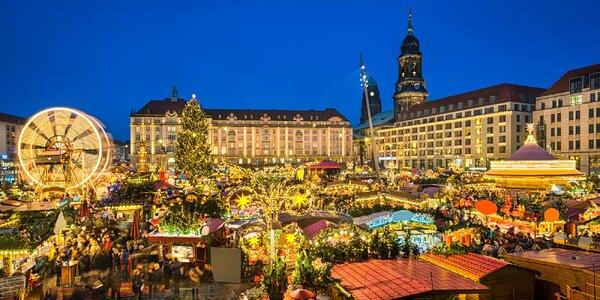 Pirna i advent v Drážďanech