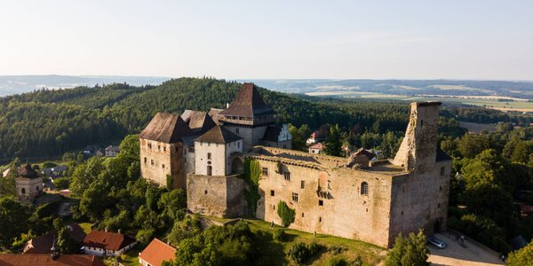 Odpočinek s wellness pod hradem Lipnice