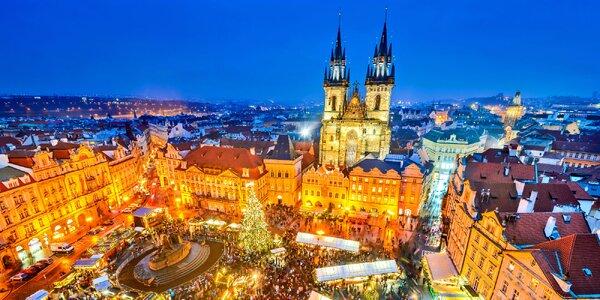 1denní výlet do adventní Prahy z Moravy