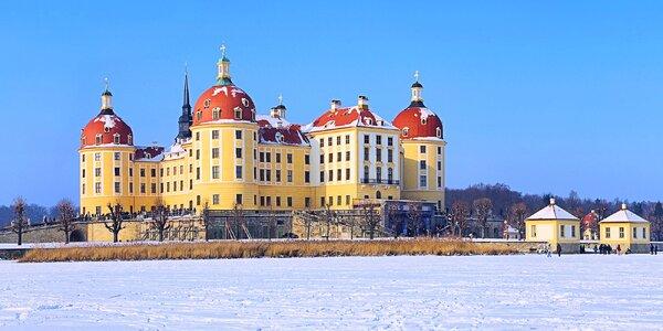 O adventu za Popelkou na Moritzburg a do Drážďan