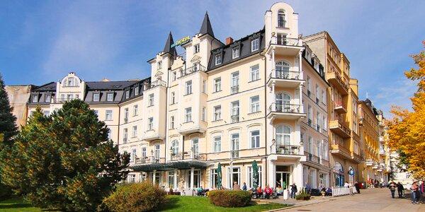 Ozdravný pobyt ve 4* hotelu v centru Mariánek