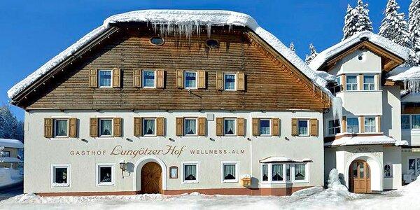 Aktivní dovolená u Dachsteinu s wellness i stravou