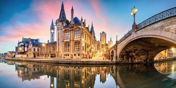 Adventní perly Belgie: Bruggy, Gent i Brusel