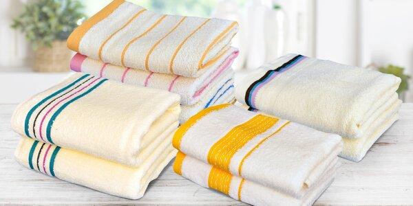 Heboučké froté ručníky a osušky ze 100% bavlny
