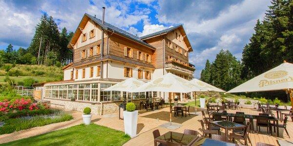 Relax ve Slavkovském lese: neomezený wellness, jídlo