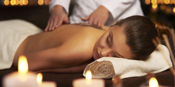 80 minut thajské relaxace: masáž a zábal