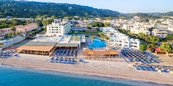 4* resort s all inclusive u metropole Rhodos