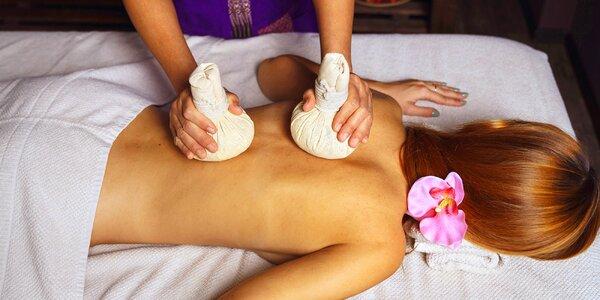 Thajská masáž podle výběru v délce 45–90 min.