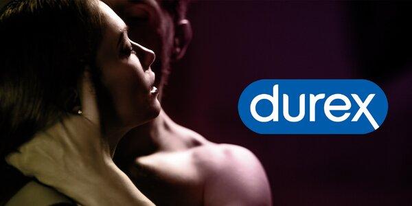Balíčky Durex: kondomy i vibrátory