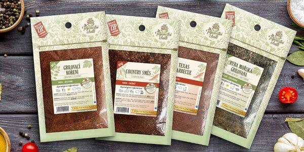 Špetka chuti: koření na maso, ryby, sýry i zeleninu