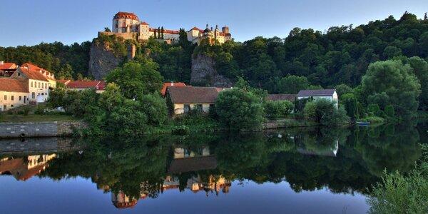 Aktivní dovolená v chatě u Vranovské přehrady