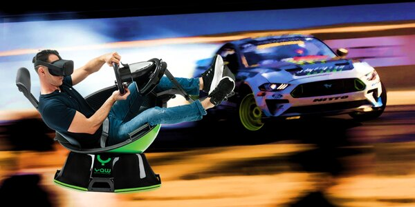 3DOF simulátor: závody i jízda na horské dráze