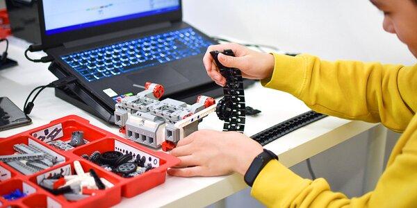 Kurz robotiky pro děti od 5 do 13 let