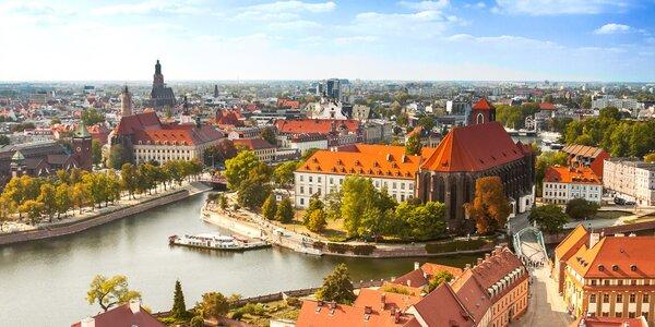 Stylový pobyt ve Vratislavi včetně jídla