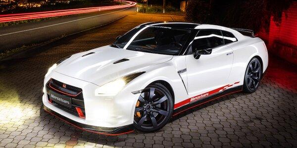 30 nebo 60 minut řidičem sportovního vozu Nissan GT-R