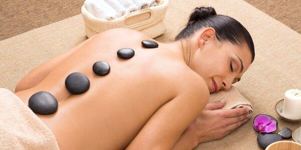 Masáž lávovými kameny na 60 nebo 90 minut
