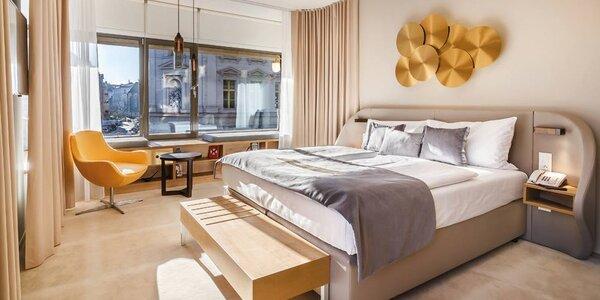 5* hotel v centru Prahy: snídaně, masáž i wellness