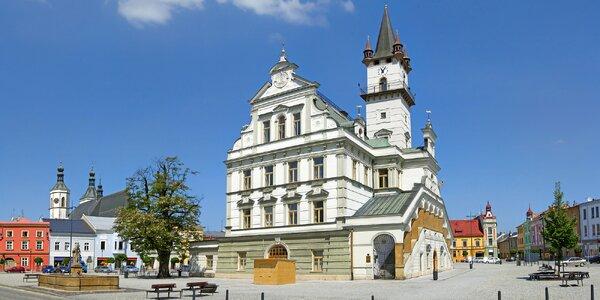 Severní Morava s polopenzí, vířivkou i zábavou