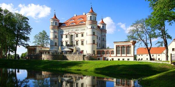 Pohádkový wellness pobyt na zámku Wojanów s jídlem
