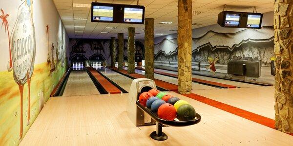 Hodina bowlingu a pizza nebo tatarák