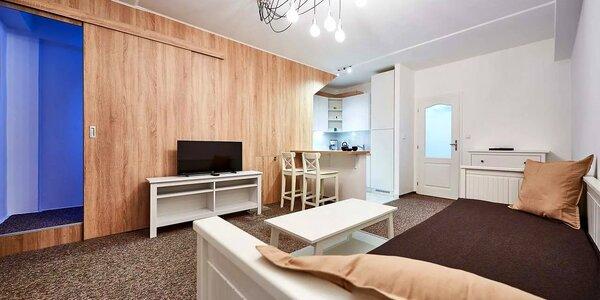 Podzim v moderních apartmánech pod Klínovcem