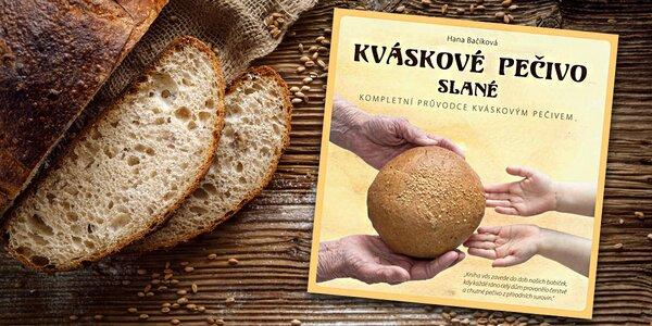 Kniha Kváskové pečivo slané s autogramem autorky