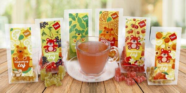 Originální Medvídkový čaj s 6 různými příchutěmi