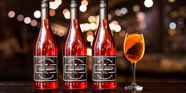 1 nebo 6 lahví osvěžujícího drinku Ciao Spritz