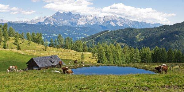 Pobyt v apartmánu v rakouských Alpách pro 4–6 osob