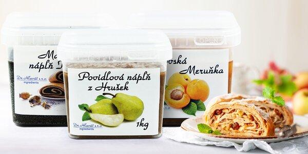 Moravské džemy a náplně na pečení z kvalitních surovin