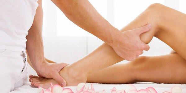 Speciální ruční lymfatická masáž dolních končetin