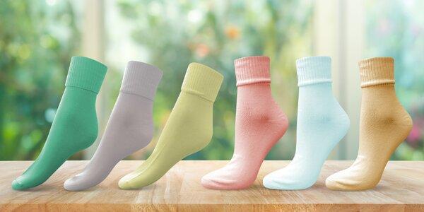 Dámské bambusové zdravotní ponožky