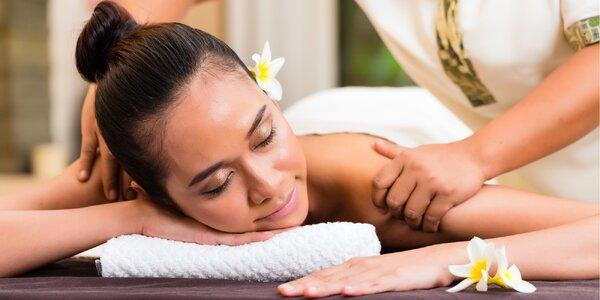 30–60min. thajská masáž dle výběru a aroma lázeň