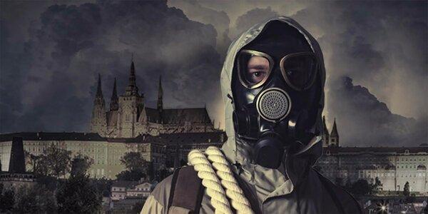 Úniková hra Nukleární bunkr pro 2–6 hráčů