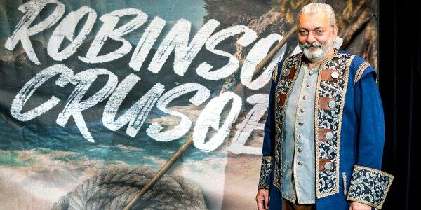 Muzikál Robinson Crusoe a po něm setkání s herci