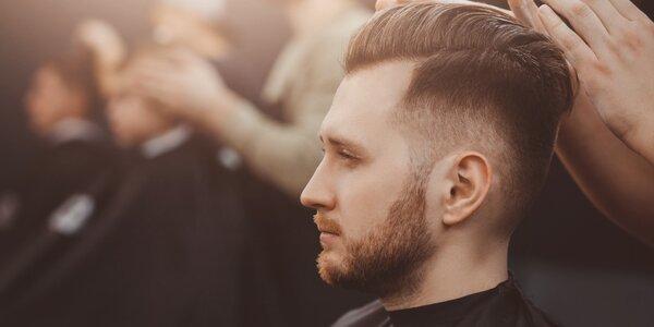 Barber u Bílé labutě: střih, břitva i komplet péče