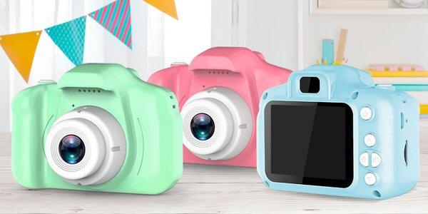 Malý a odolný fotoaparát pro děti: 3 barvy