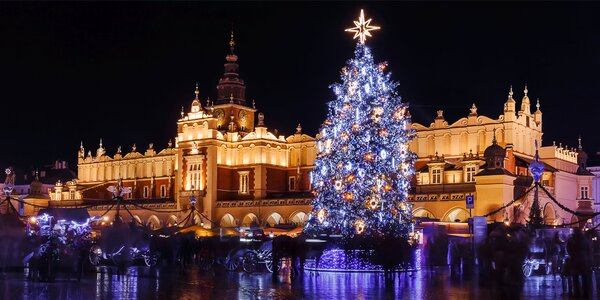 2denní zájezd do Krakova: adventní trhy i vodní park