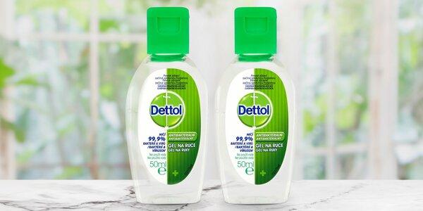 Dettol: antibakteriální gelová dezinfekce na ruce