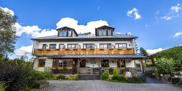 Hotel pod Hostýnem: polopenze, relax i lyžování