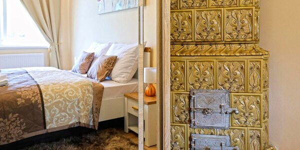 Karlovy Vary: pobyt se snídaní v luxusním apartmánu