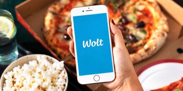 150 Kč na první objednávku jídla přes Wolt