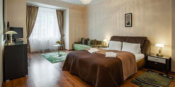 Apartmány v centru Karlových Varů se snídaní