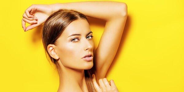 Kosmetická péče pro různé typy pleti