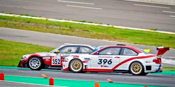 Řidičem či spolujezdcem v závodním speciálu BMW