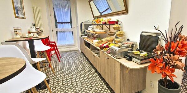 Bufetová snídaně v centru Prahy pro 1 či 2 osoby
